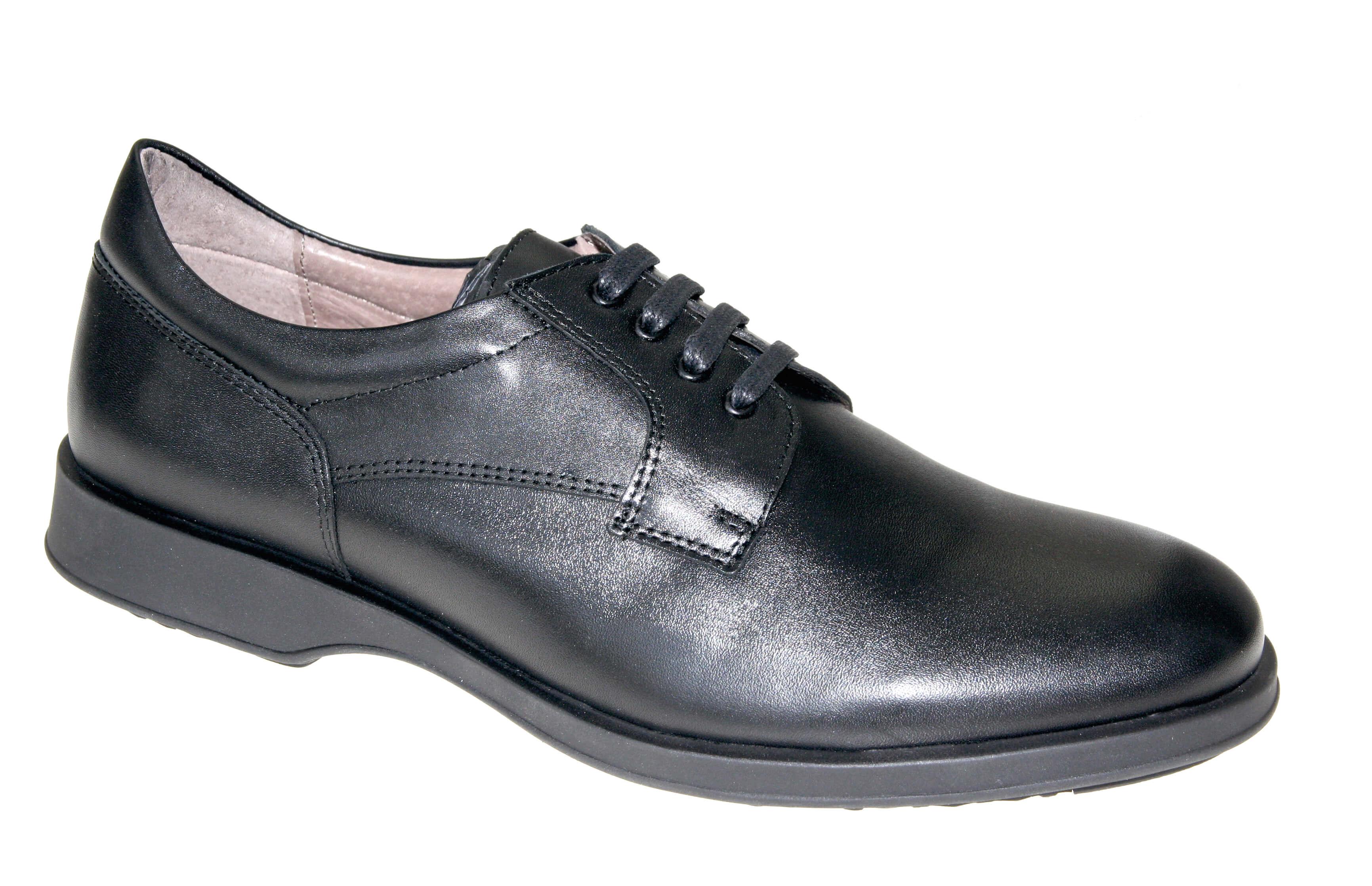 Zapato negro hombre Comodosan 7705